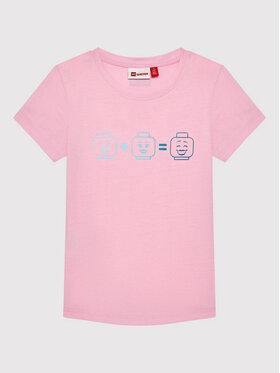 LEGO Wear LEGO Wear Póló Lwteach 301 11010109 Rózsaszín Regular Fit