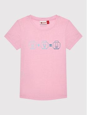 LEGO Wear LEGO Wear T-Shirt Lwteach 301 11010109 Różowy Regular Fit