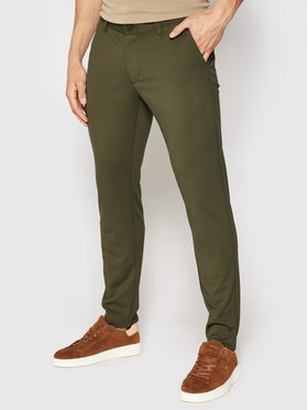 Only & Sons Only & Sons Pantaloni di tessuto Mark 22010209 Verde Slim Fit