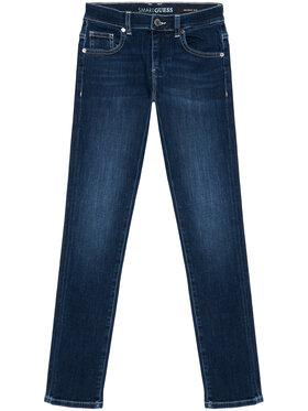 Guess Guess Jeansy L1RA17 D4AK0 Granatowy Skinny Fit