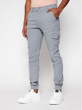 Guess Guess Jogger kelnės New Kombat M1RB17 WDP31 Pilka Slim Fit