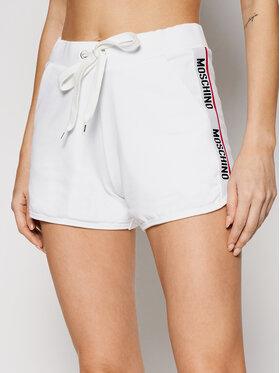MOSCHINO Underwear & Swim MOSCHINO Underwear & Swim Short de sport ZUA4312 9020 Blanc Regular Fit