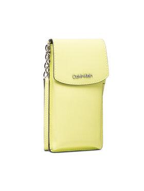 Calvin Klein Calvin Klein Дамска чанта Ck Must Phone Pouch Xbody K60K608246 Зелен