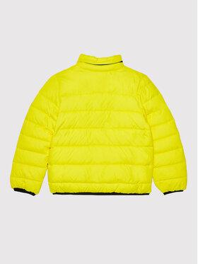 Calvin Klein Jeans Calvin Klein Jeans Kurtka puchowa Lined Monogram IB0IB00918 Żółty Regular Fit