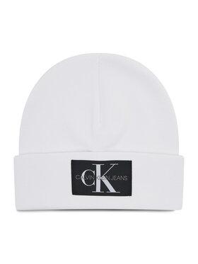 Calvin Klein Jeans Calvin Klein Jeans Mütze Beanie Monogram K50K507052 Weiß