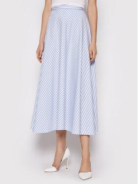 Polo Ralph Lauren Polo Ralph Lauren Trapézová sukně 211838047001 Modrá Regular Fit