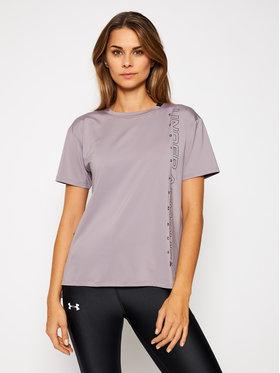 Under Armour Under Armour Techniniai marškinėliai Ua Armour Sport Graphic Short Sleeve 1356301 Violetinė Loose Fit