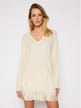 Pinko Pinko Džemper haljina Tennis 21 BLK01 1G15SM Y6TR Bež Regular Fit