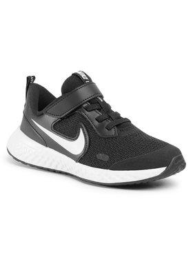 Nike Nike Boty Revolution 5 (PSV) BQ5672 003 Černá