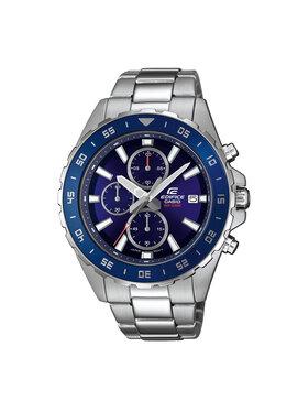 Casio Casio Zegarek Edifice EFR-568D-2AVUEF Srebrny