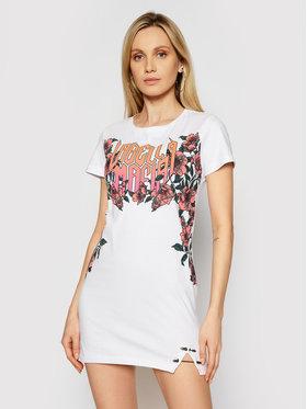 LaBellaMafia LaBellaMafia Sukienka codzienna 21440 Biały Slim Fit