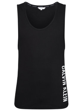 Calvin Klein Swimwear Calvin Klein Swimwear Tank top Crew KM0KM00609 Negru Relaxed Fit