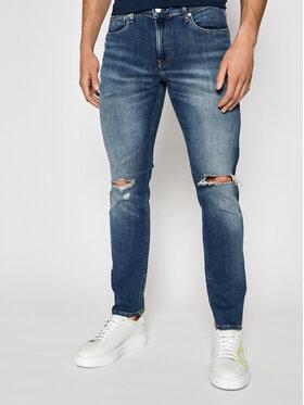 Calvin Klein Jeans Calvin Klein Jeans Jeansy J30J318256 Tmavomodrá Slim Fit