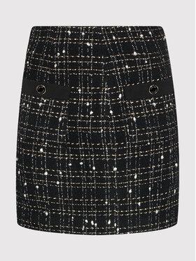 Liu Jo Liu Jo Mini suknja CF1339 T2476 Crna Regular Fit
