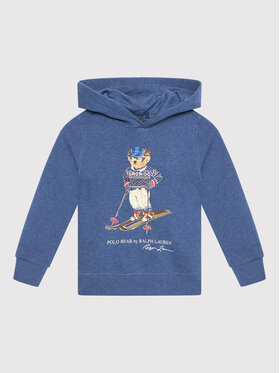 Polo Ralph Lauren Polo Ralph Lauren Bluza Lsphood 323853823001 Niebieski Regular Fit