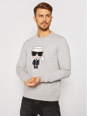 KARL LAGERFELD KARL LAGERFELD Sweatshirt Sweat 705040 502950 Gris Regular Fit