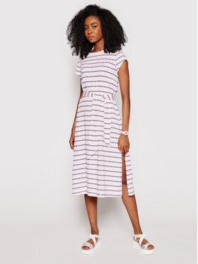 Tommy Jeans Tommy Jeans Kleid für den Alltag Belted Stripe DW0DW09935 Rosa Regular Fit