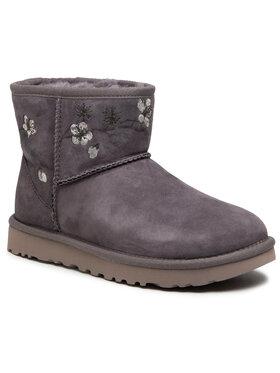 Ugg Ugg Schuhe W Classic Mini Blossom 1117317 Grau