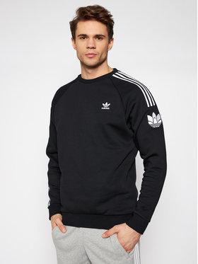 adidas adidas Bluză adicolor 3D Trefoil 3-Stripes GN3545 Negru Regular Fit