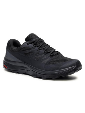 Salomon Salomon Trekingová obuv Outline Wide Gtx GORE-TEX 412330 29 M0 Černá