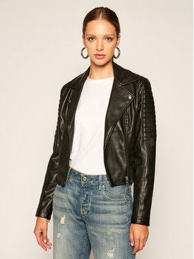 Calvin Klein Jeans Calvin Klein Jeans Bőrkabát J20J214185 Fekete Slim Fit