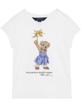 Polo Ralph Lauren Polo Ralph Lauren T-Shirt SS Bear Tee 313790444001 Weiß Regular Fit