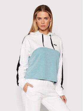 Fila Fila Sweatshirt Damita 688999 Bleu Cropped Fit