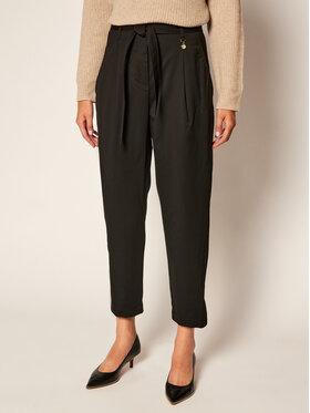 Pennyblack Pennyblack Spodnie materiałowe Muletto 21341220 Czarny Regular Fit