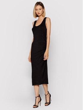 DKNY DKNY Sukienka letnia DD1CL727 Czarny Regular Fit