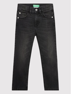United Colors Of Benetton United Colors Of Benetton Jeansy 4XA257OT0 Czarny Slim Fit