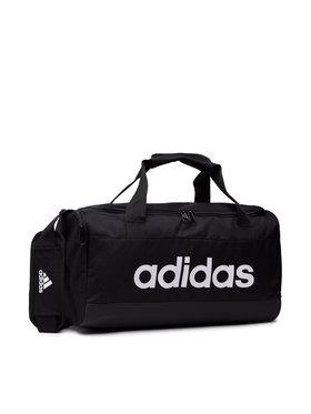 adidas adidas Σάκος Linear Duffel S GN2034 Μαύρο