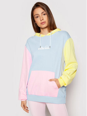 Ellesse Ellesse Bluza Arriverderci Oh SGJ11883 Kolorowy Loose Fit