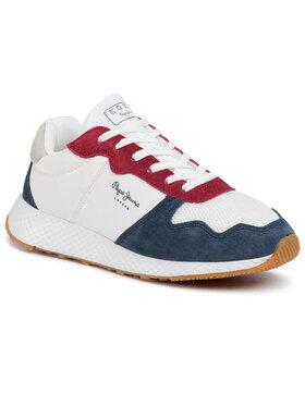Pepe Jeans Sneakersy Koko Esse PLS30999 Biela