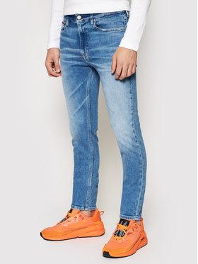 Tommy Jeans Tommy Jeans Džinsai Simon DM0DM09841 Tamsiai mėlyna Skinny Fit