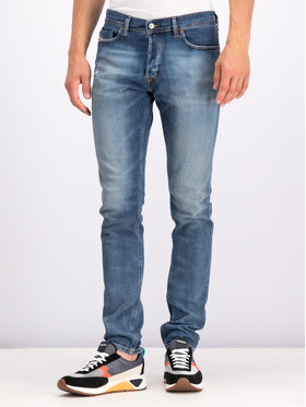 Diesel Diesel Slim Fit Jeans Tepphar-X 00SWID0870H Dunkelblau Slim Fit