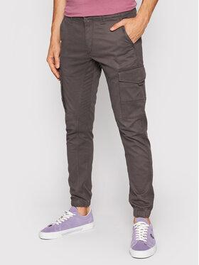 Jack&Jones Jack&Jones Текстилни панталони Paul 12140326 Сив Tapered Fit