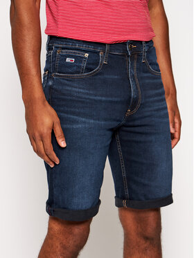 Tommy Jeans Tommy Jeans Pantaloni scurți de blugi Rey DM0DM08043 Bleumarin Relaxed Fit