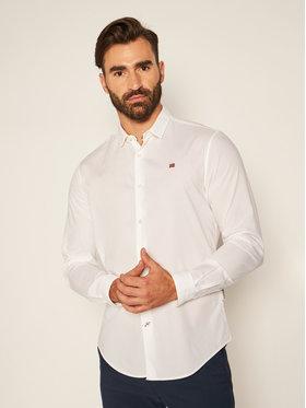 Napapijri Napapijri Marškiniai Girb NP0A4ENH Balta Urban Fit