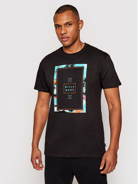 Billabong Billabong T-Shirt Tucked S1SS11 BIP0 Czarny Regular Fit