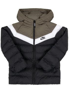 NIKE NIKE Μπουφάν πουπουλένιο Sportswear 939554 Μαύρο Loose Fit