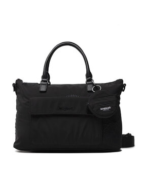 Desigual Desigual Дамска чанта 21WAXA67 Черен