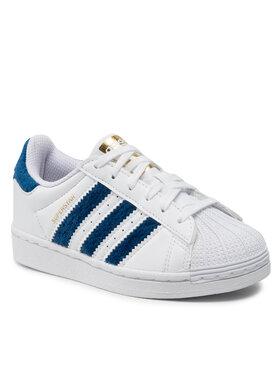 adidas adidas Buty Superstar C H03981 Biały