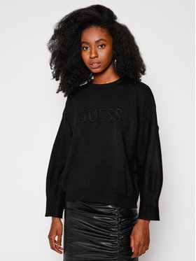Guess Guess Sweter O94R00 Z26I0 Czarny Oversize