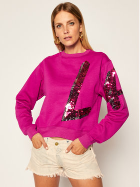 Guess Guess Bluza Jenny W0YQ77 K8800 Fioletowy Regular Fit
