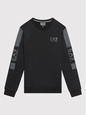 EA7 Emporio Armani EA7 Emporio Armani Sweatshirt 6KBM62 BJ07Z 1200 Schwarz Regular Fit