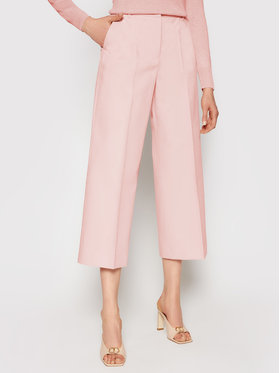Weekend Max Mara Weekend Max Mara Pantaloni culotte Svezia 51310211 Roz Regular Fit