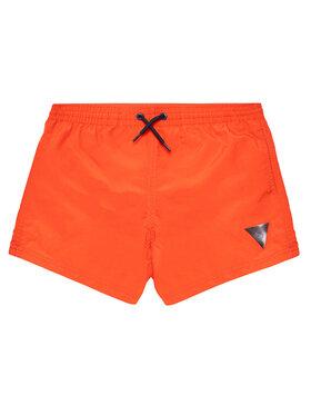 Guess Guess Pantaloncini da bagno L1GZ01 TEL27 Rosso Regular Fit