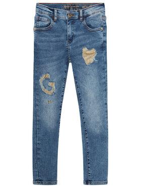 Guess Guess Skinny Fit džíny K0YA02 D3UF0 Modrá Skinny Fit
