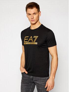 EA7 Emporio Armani EA7 Emporio Armani T-Shirt 3KPT87 PJM9Z 1200 Černá Regular Fit