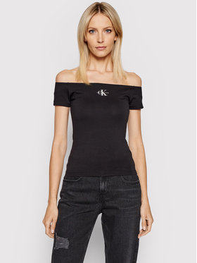 Calvin Klein Jeans Calvin Klein Jeans Blusa J20J217165 Nero Slim Fit